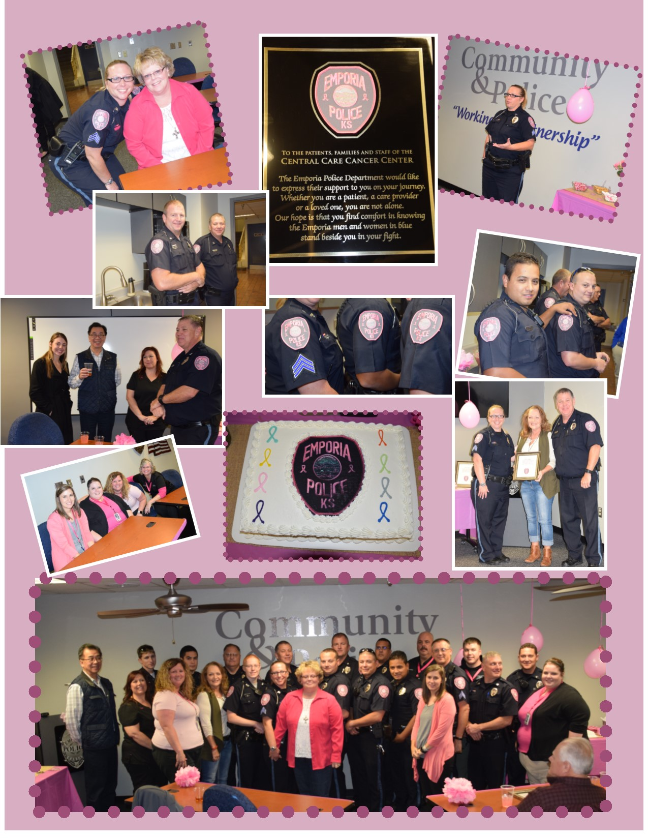 Pink Patch Reception Montage